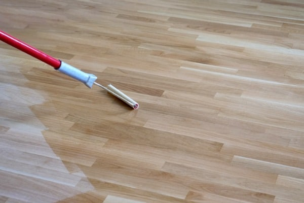 finishing the floor