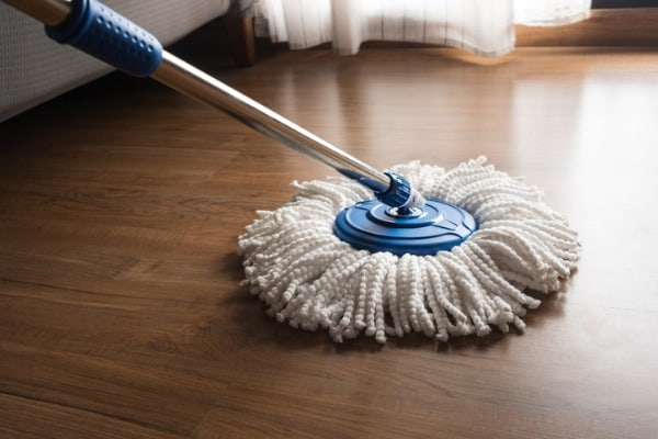 mop hardwood floor
