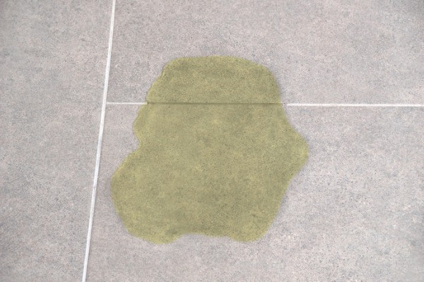 urine soak into tile grout