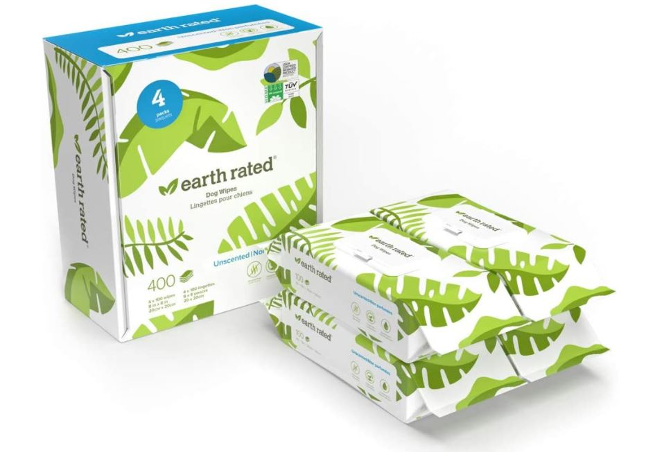 Earth Rated Dog Wipes